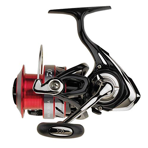 Daiwa Ninja 3000A, Mulinello da pesca, Frizione Anteriore, 220m-0.28mm, Peso 310 grammi, max 6 kg