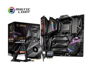 MSI MEG X570 GODLIKE Motherboard (AMD AM4, PCIe 4.0, DDR4, SATA 6Gb/s, Triple M.2, USB 3.2, AX Wi-Fi 6, 10G Super LAN, Extended-ATX)