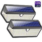 Lampe Solaire Extérieur,【Version étanche Durable】Trswyop 128 LED...
