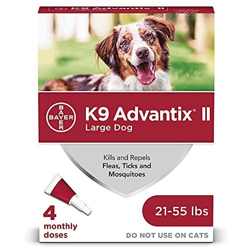 K9 Advantix II Flea and Tick Prevention for Large...