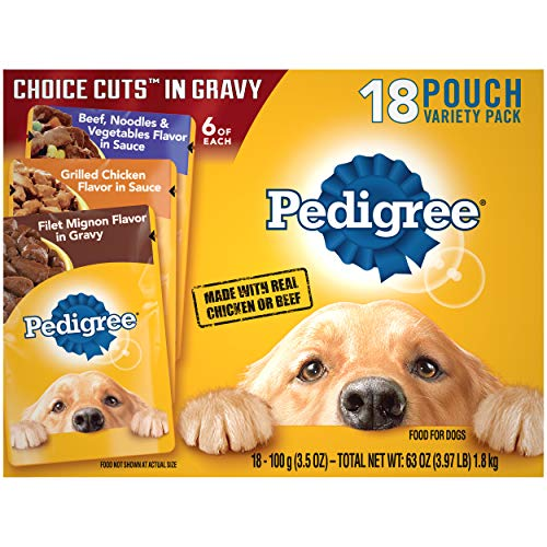 PEDIGREE CHOICE CUTS in Gravy Adult Soft Wet Meaty...