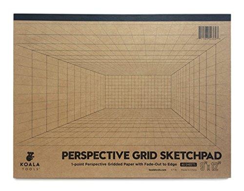 Koala Tools | Room Grid (1-Point) Large Sketch Pad | 9' x...