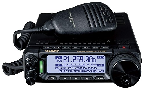 FT-891 FT891 Yaesu Original FT-891 HF/50 MHz All Mode Analog Ultra Compact Mobile/Base Transceiver - 100 Watts - 3 Year Warranty