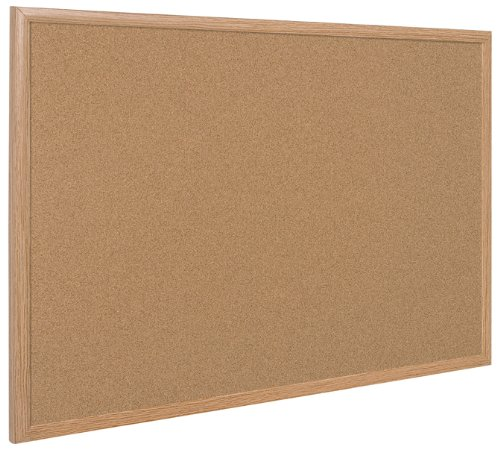 Bi-Office SF152001239 - Bacheca in Sughero, 120 x 90 cm, Beige (Natural)