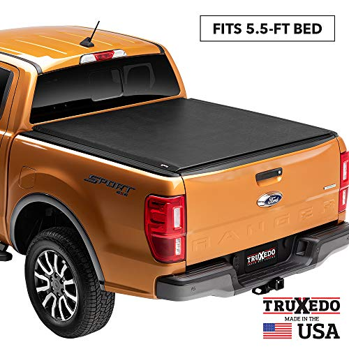 TruXedo Lo Pro Soft Roll Up Truck Bed Tonneau Cover | 597701 | fits 15-20 Ford F-150 5'6' bed
