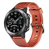 YAMAY Montre Connectée Homme Femmes Smartwatch Cardiofrequencemetre Etanche...