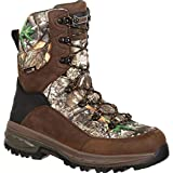 ROCKY Men's Grizzly Waterproof Insulated Outdoor Boot Round Toe Camouflage 11.5 EE
