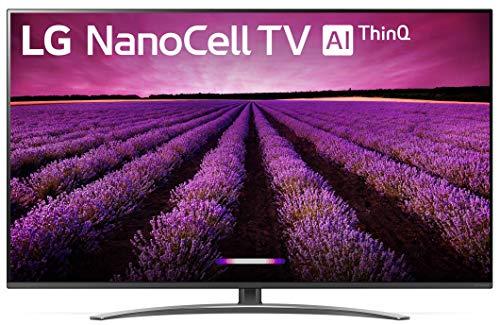 LG 55SM8100AUA Alexa Built-in Nano 8 Series 55' 4K Ultra HD Smart LED NanoCell TV (2019)