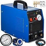 Mophorn 50 Amp Plasma Cutter Dual Voltage 110 220V Plasma Cutting Machine 12mm(1/2 Inch) Cutting Thickness Portable Plasma Welder IGBT Inverter Digital Plasma Welding Machine