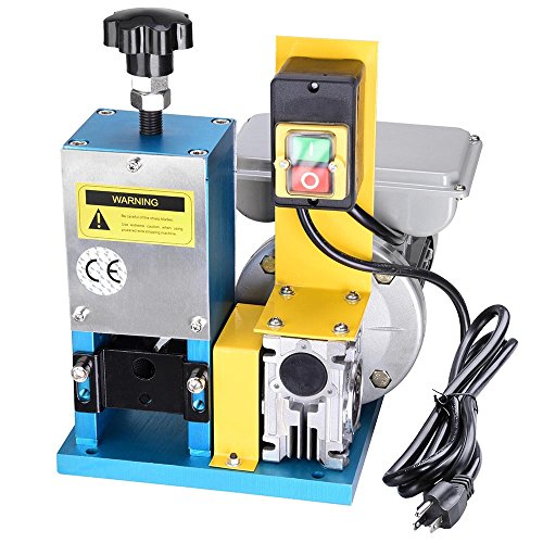 Yescom Electric Automatic Wire Stripping Machine Benchtop Powered Cable...