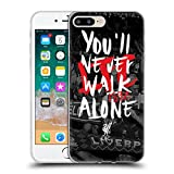 Head Case Designs Officially Licensed Liverpool Football Club Kop 6 You'll Never Walk Alone Soft Gel Case Compatible with Apple iPhone 7 Plus/iPhone 8 Plus