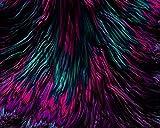 DIY Pintura Al óLeo por NúMeros Kits Tema Pintura Al óLeo Digital Kits De Lona CumpleañOs Boda O DecoracióN NavideñA Decoraciones Fractal LíQuido Ondulado PúRpura AbstraccióN