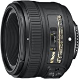 2. Nikon AF-S Nikkor 50mm f/1.8G Lens