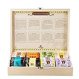 Wissotzky Tea Magic Tea Chest, Assorted Tea Gift Box Collection w/ 80...