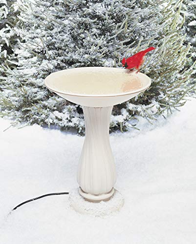 API Heated Birdbath Heated Bird Bath with Stand (Item No. 670)