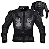 Motorcycle Body Armor Jacket Motocross Racing Dirtbike Armor Protector for Kids (Small)