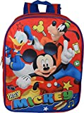 Mickey Mouse 15' Backpack (Red-Blue)