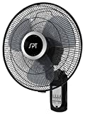 SPT SF-16W81 16' Wall Mount Fan with Remote Control