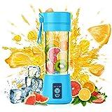 MR. BRAND Juicer Rechargeable Portable Electric USB Juicer Bottle Blender for Making Juice, Travel Juicer for Fruits and Vegetables, Fruit Juicer for All Fruits, Juice Maker Machine (Multi colour)