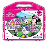 Clementoni Mouse Minnie Rompecabezas maletín 12 cubos, multicolor (41184) , color/modelo surtido