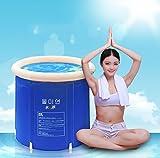 MILUCE Pieghevole vasca da bagno barile adulto vasca gonfiabile, più spessa plastica vasca da bagno secchio. ( dimensioni : L. )