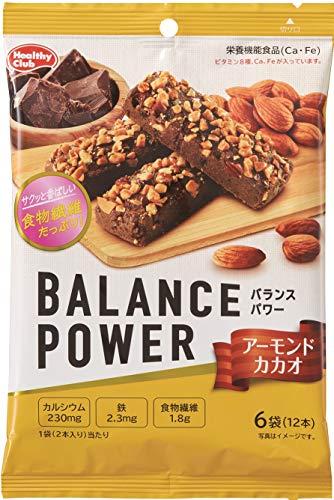 ハマダコンフェクト バランスパワー アーモンドカカオ 6袋(12本入)×10個
