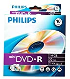 10 Philips Mini Dvd-r for Sony/hitachi Cam