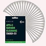 UES APSC-30 DSLR o SLR Digital Sensor Limpieza Hisopos para sensores APS-C (30 x 16 mm)