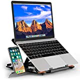 Besign Adjustable Laptop Stand, Ergonomic Riser Notebook Computer Holder Stand Compatible with Air,...