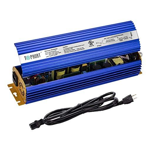 TOPHORT 1000W Digital Electronic Ballast for 1000W HPS MH Grow Light Bulb Lamp Ballast (1000W, Blue)