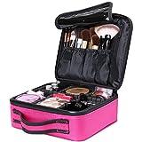 Luxspire Makeup Étui de Rangement Cosmétique, Maquillage Professionnel Ensemble Portable Sac de...