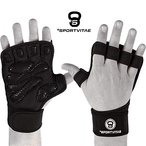 Sportvitae Calleras Crossfit Weightlifting Gloves Guantes de Gimnasio...