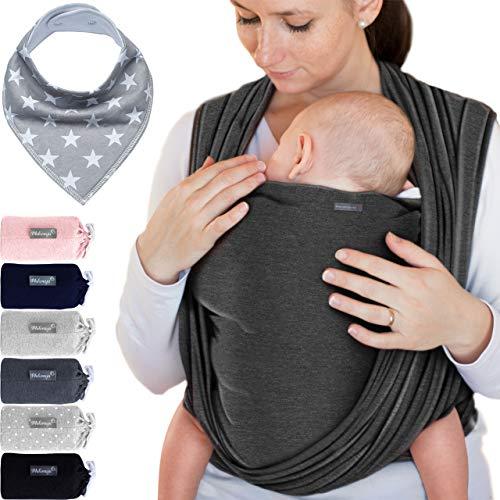 Makimaja - Fascia porta bebè grigio scuro