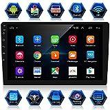【Hardware e Sistema】: Android 9.1 Schermo Multi-touch 1080P HD da 10,1 Pollici Navigazione GPS Radio FM Telecamera Posteriore (inclusa). ANKEWAY 2020 Car Multimedia Internet Platform (1G RAM/16G ROM/12V/2 DIN) che consente di utilizzare qualsiasi app...