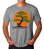 PasTomka Karate Kid Bonsai Japanese Men's T-Shirt Hombre Camiseta XX-Large