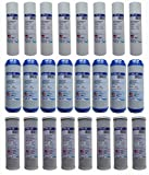 4 Years Supply (24 pcs) for 3 Stage Whole House Filtration System or Reverse Osmosis RO. Replacement Set of 3 filters: Sediment, GAC, CTO Carbon Block