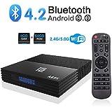 Android 9.0 TV Box, YAGALA F2 TV Box 4GB RAM 64GB ROM Dual WiFi 2.4GHz/5.0GHz BT4.2 Media Player Amlogic S905X2 Quad Core Android Box