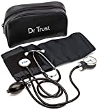 Dr Trust (USA) Sphygmomanometer Aneroid Type Manual Blood pressure monitor with stethoscope