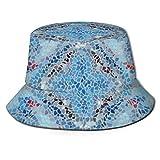 (Amazon Genuine -) Sombrero de cubo Packable Fisherman Cap Unisex Sombrero al aire libre Moda Sun Sombreros   Mujeres Cinturón Hebilla Fedora Sombreros/Hombres 3.0 Cap