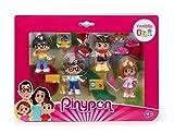 Famiglia GBR Pinypon, 4 personaggi e 10 accessori