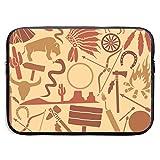 Icon - Bolsas para portátiles compatibles con tabletas Netbook de 15 ″, maletín con Funda Pringting, Funda para el Estuche