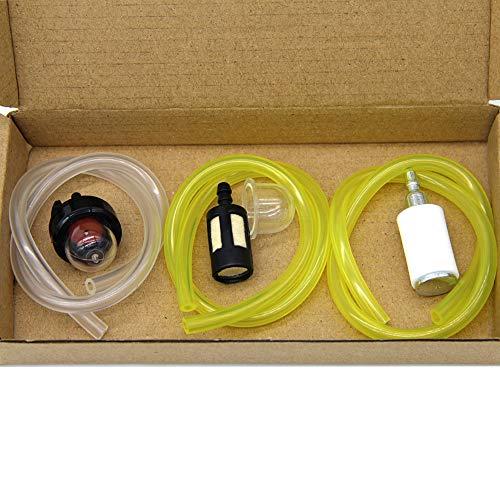 SWNKDG Set di 3 Tubo per Carburante 2 x 3mm 2,5 x 5mm 3 x 5,5 mm Tubo Flessibile per Olio Tubo per Olio Tubo Flessibile per PVC Tubo Flessibile per Acqua (30cm)