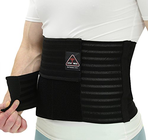 ITA-MED Men's Breathable Elastic Postsurgical Recovery Abdominal and Back Support...