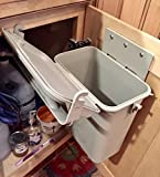 Under-Counter Indoor Kitchen Food Waste 1.5 gal Compost Container/Bin System by YukChuk
