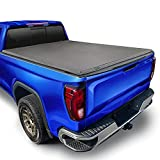 Tyger Auto T3 Soft Tri-Fold Truck Bed Tonneau Cover Compatible with 2019-2021 Chevy Silverado/GMC...