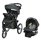 Graco Trax Jogger Travel System   Includes Trax Jogging Stroller and SnugRide 30 Infant Car Seat, Evanston