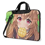 XCNGG The Rising of The Shield Hero Anime Laptop Hombro Messenger Bag Tablet Computadora Mochila de Almacenamiento Bolso 15.6 Pulgadas