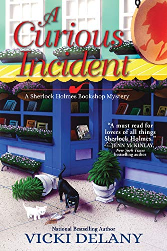 A Curious Incident: A Sherlock Holmes Bookshop Mystery by [Vicki Delany]