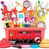 Original Stationery Ultimate Slime Kit: Kit Slime con componenti aggiuntivi per melma di Unicorno, melma Glitterata, melma Cloud e Altro - Kit di Slime Deluxe per Bambine e Bambini