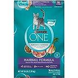 Purina ONE Hairball Formula Adult Premium Cat Food